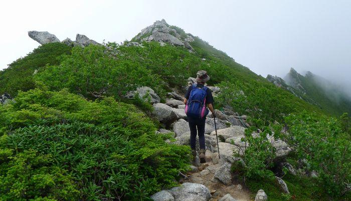 登山することをイメージしてみて下さい。